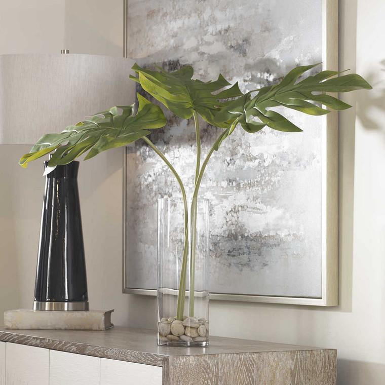 Ibero Split Leaf Palm - Size: 76H x 76W x 76D (cm)