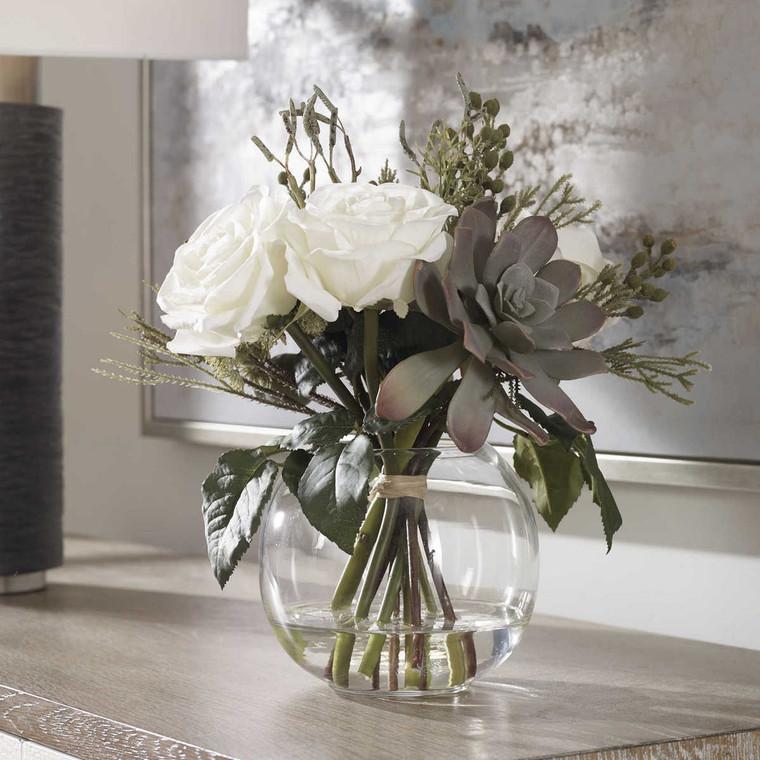 Belmonte Floral Bouquet - Size: 33H x 36W x 30D (cm)