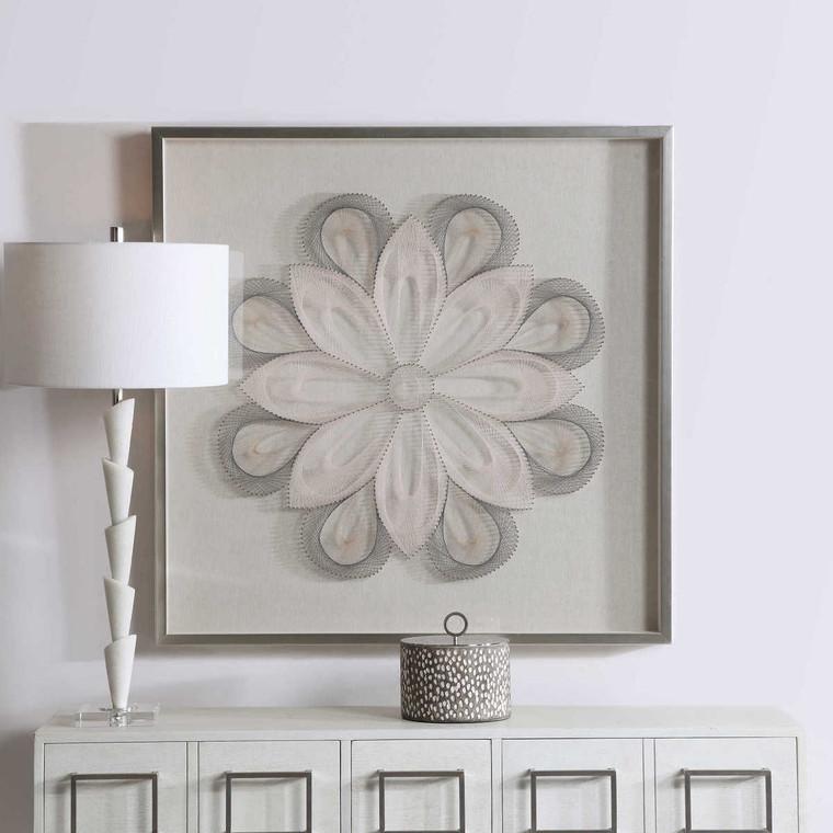 Floral Dreams Shadow Box - Size: 100H x 100W x 6D (cm)