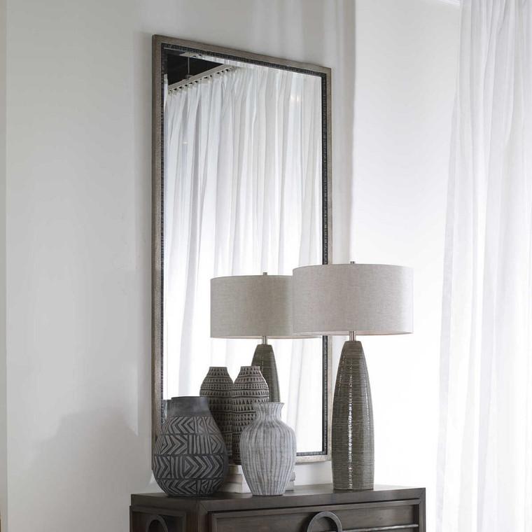 Theo Oversized Industrial Mirror - Size: 159H x 83W x 4D (cm)