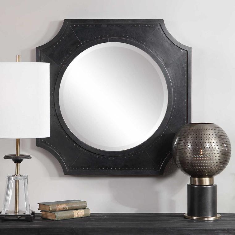 Johan Industrial Mirror - Size: 69H x 69W x 5D (cm)