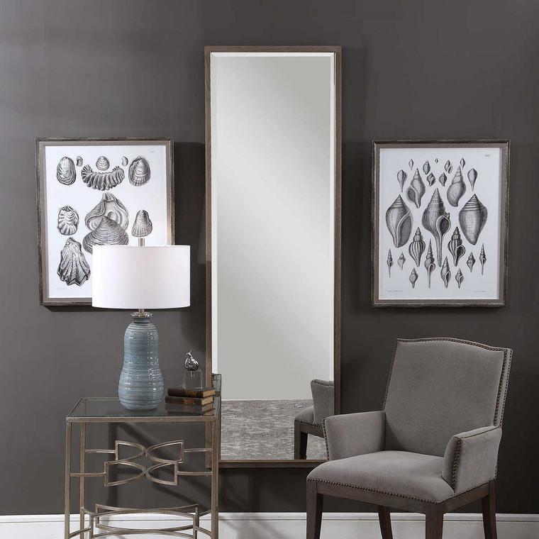 Kian Wooden Dressing Mirror - Size: 187H x 60W x 4D (cm)