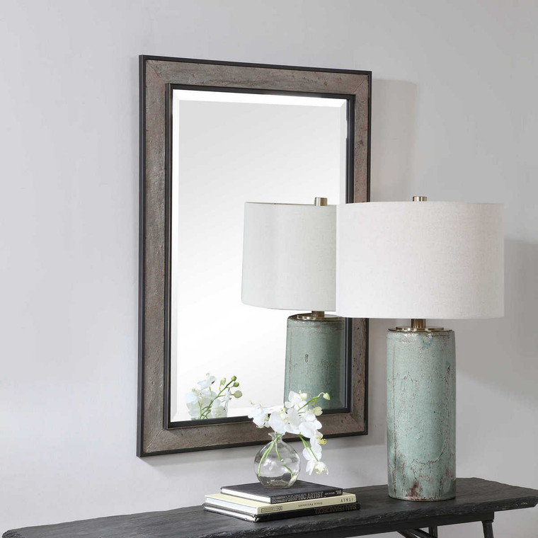 Slater Rectangular Mirror - Size: 106H x 76W x 4D (cm)