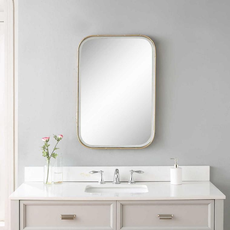 Malay Vanity Mirror - Size: 76H x 51W x 4D (cm)