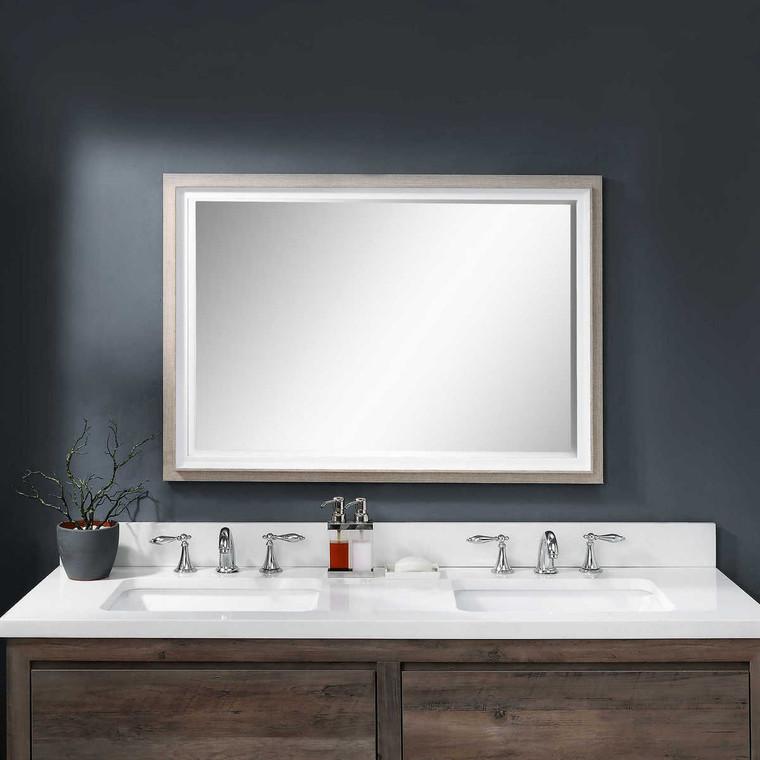 Mitra Rectangular Mirror - Size: 102H x 71W x 4D (cm)