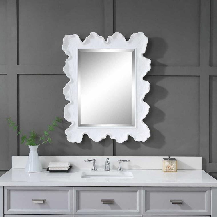Sea Coral Coastal Mirror - Size: 87H x 69W x 6D (cm)