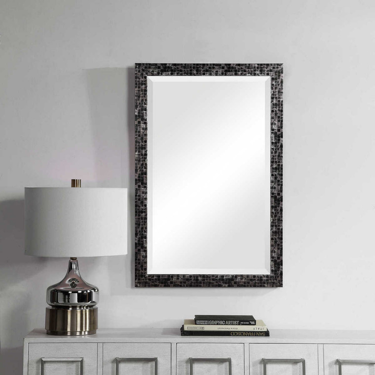 Graphique Mosaic Mirror - Size: 91H x 60W x 3D (cm)