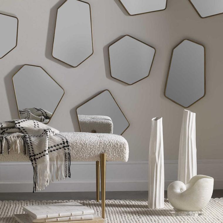 Linneah Modern Mirrors Set/4 - Size: 50H x 31W x 3D (cm)