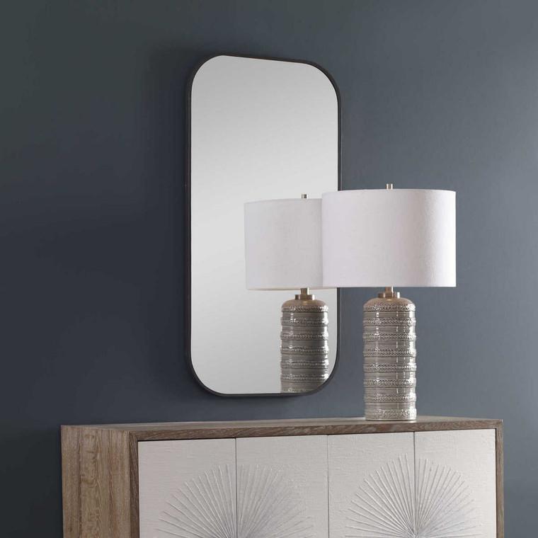 Taft Dark Bronze Mirror - Size: 104H x 53W x 2D (cm)