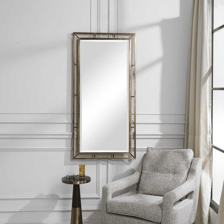 Farrow Mirror - Size: 142H x 71W x 5D (cm)