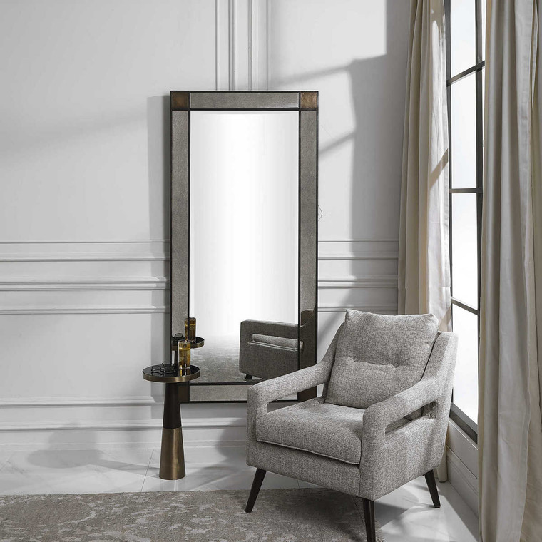 Newcomb Leaner Mirror - Size: 183H x 86W x 5D (cm)