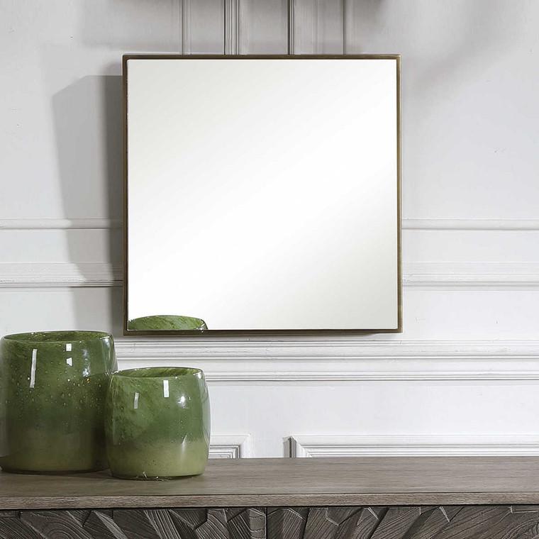 Balmoral Square Mirror - Size: 51H x 51W x 6D (cm)