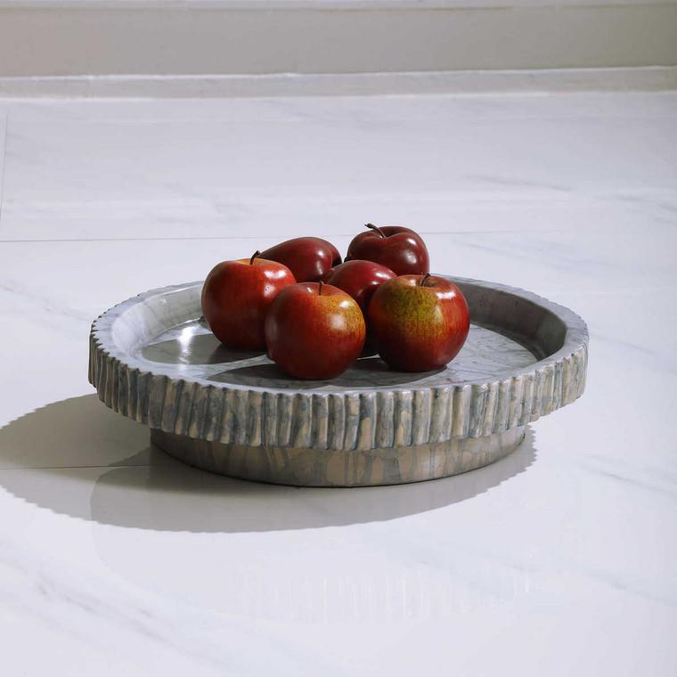 Delft Ceramic Bowl - Size: 10H x 42W x 42D (cm)