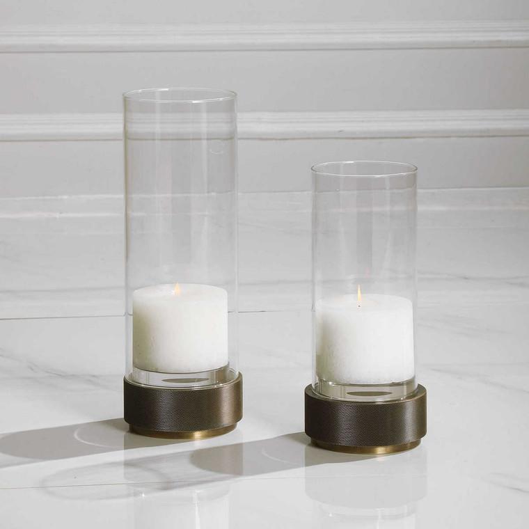 Sandringham Candleholders Set/2 - Size: 36H x 13W x 13D (cm)