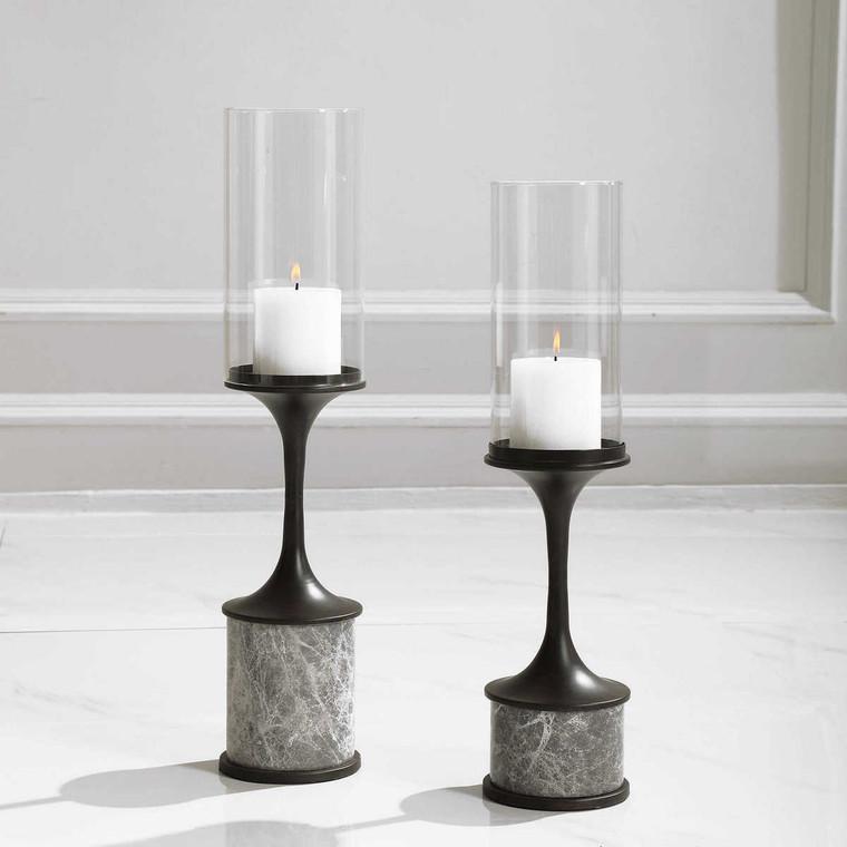 Deane Candleholders Set/2 - Size: 56H x 12W x 12D (cm)
