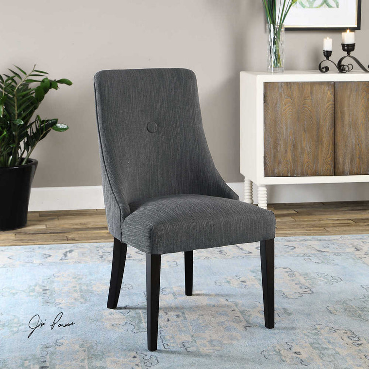Patamon Armless Chairs Set/2 - Size: 95H x 52W x 64D (cm)