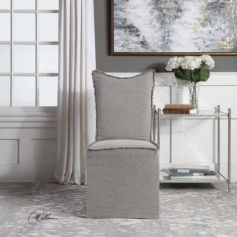 Narissa Armless Chairs Set/2 - Size: 100H x 48W x 65D (cm)