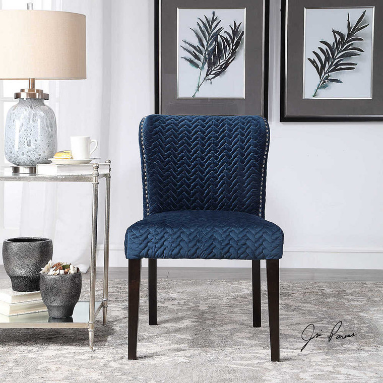 Miri Accent Chairs Set/2 - Size: 86H x 56W x 65D (cm)