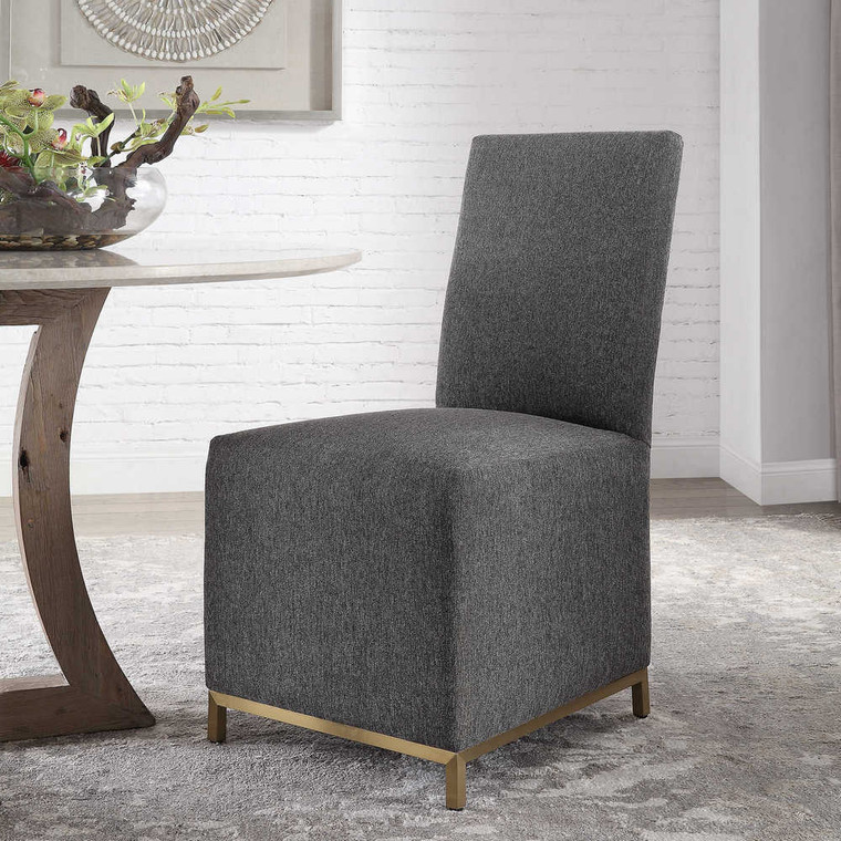 Gerard Armless Chairs Set/2 - Size: 97H x 49W x 65D (cm)