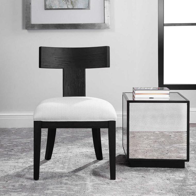 Idris Armless Chair - Size: 86H x 52W x 59D (cm)