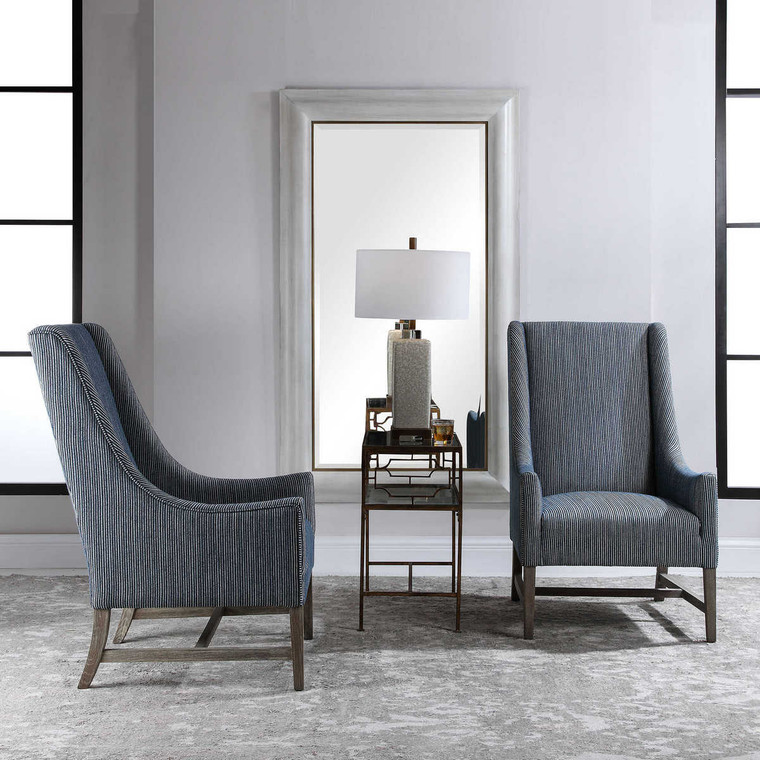 Galiot Wingback Accent Chair - Size: 109H x 69W x 86D (cm)