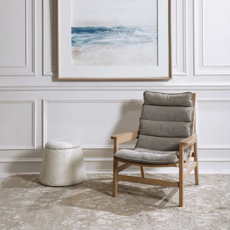 Isola Accent Chair - Size: 94H x 77W x 84D (cm)