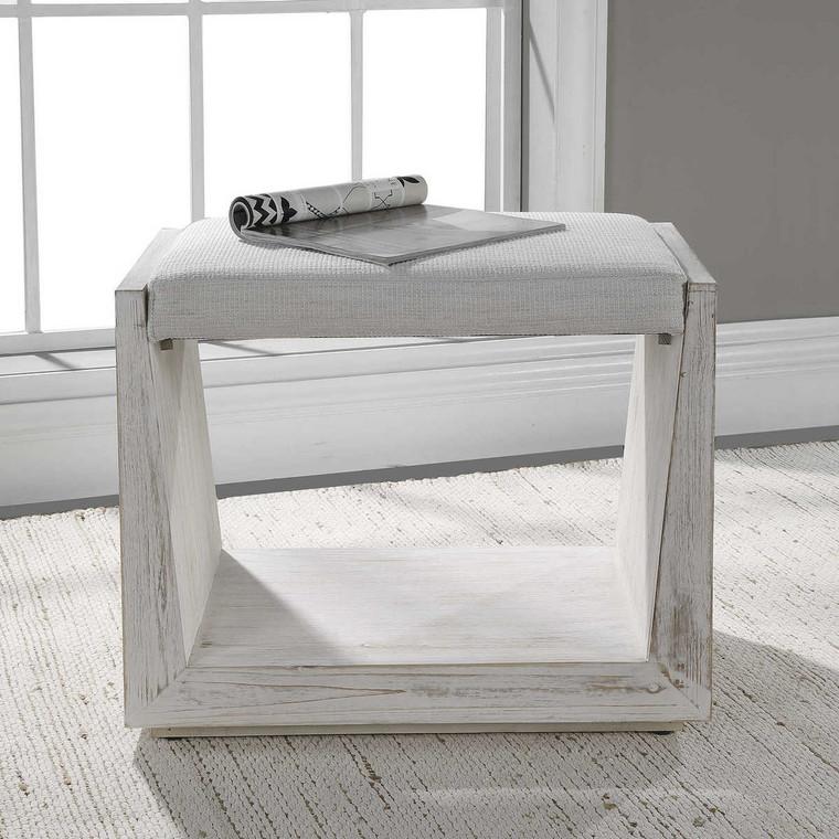Cabana Small Bench - Size: 40H x 60W x 51D (cm)