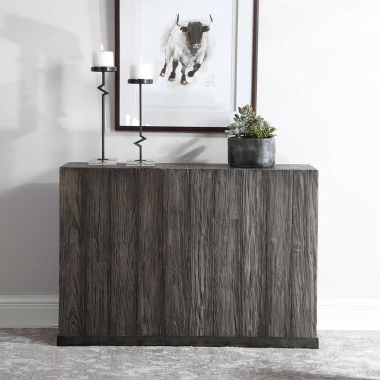 Latham Reclaimed Wood Console Table - Size: 81H x 118W x 33D (cm)