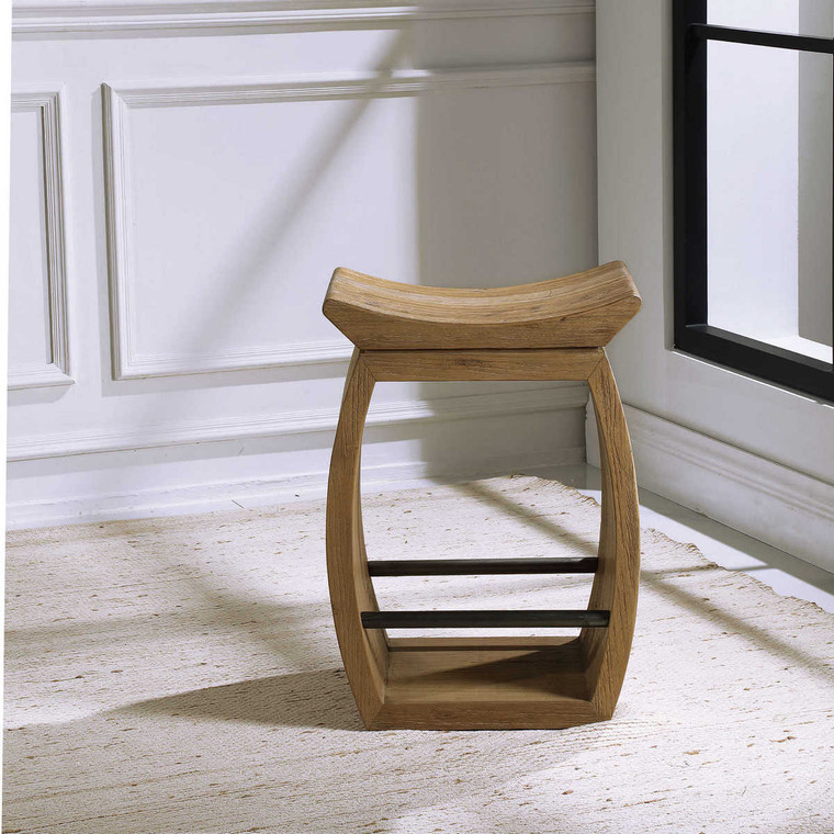 Conner Counter Stool - Size: 64H x 46W x 36D (cm)