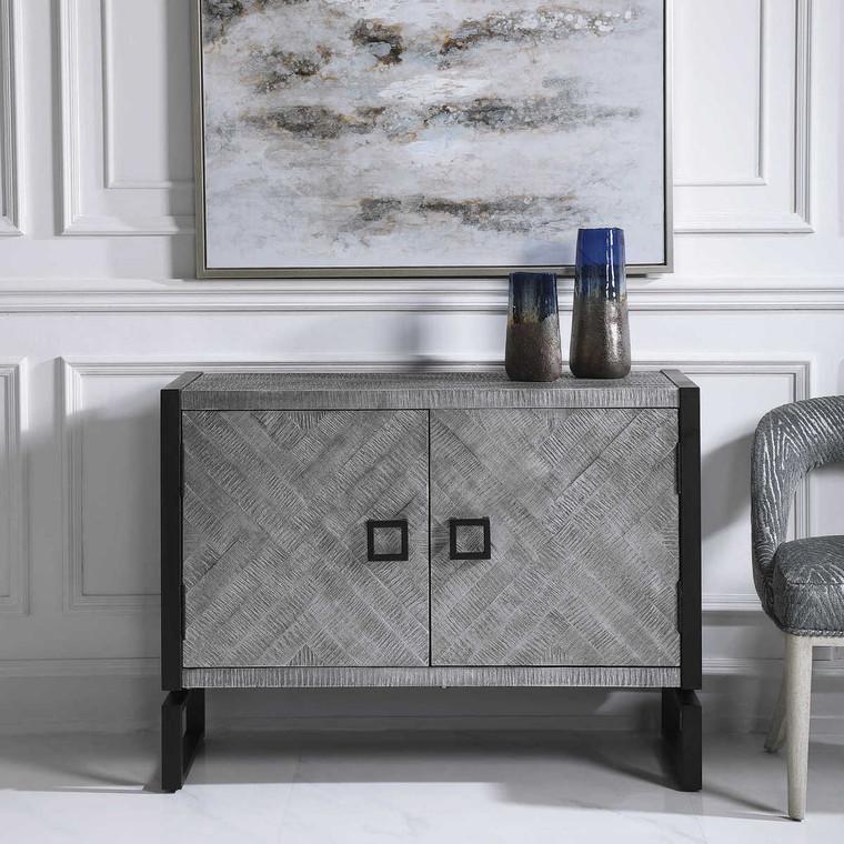 Keyes 2 Door Cabinet - Size: 83H x 109W x 43D (cm)