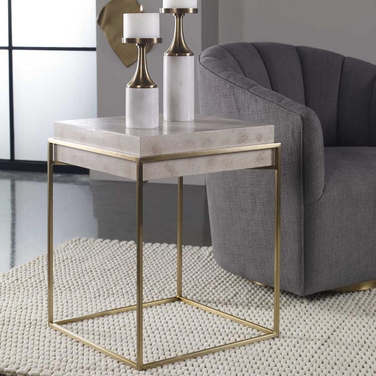 Inda Accent Table - Size: 61H x 48W x 48D (cm)
