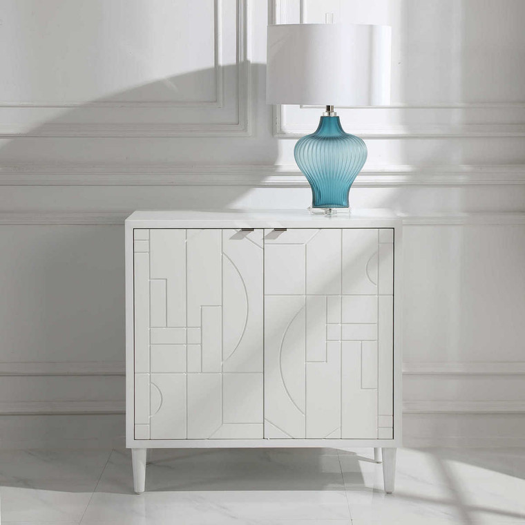 Stockholm 2 Door Cabinet - Size: 87H x 87W x 41D (cm)