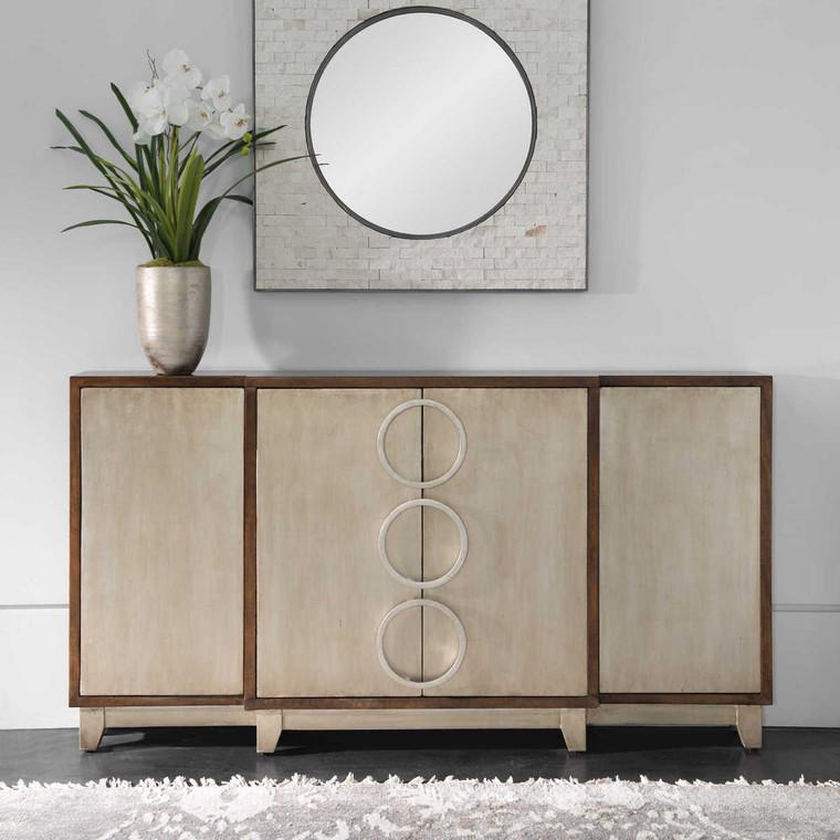 Jacinta Modern Console Cabinet - Size: 86H x 163W x 23D (cm)