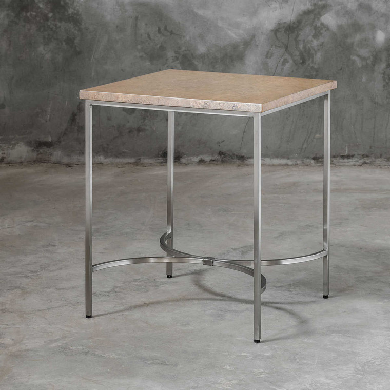 Drummond Modern Side Table - Size: 56H x 56W x 66D (cm)