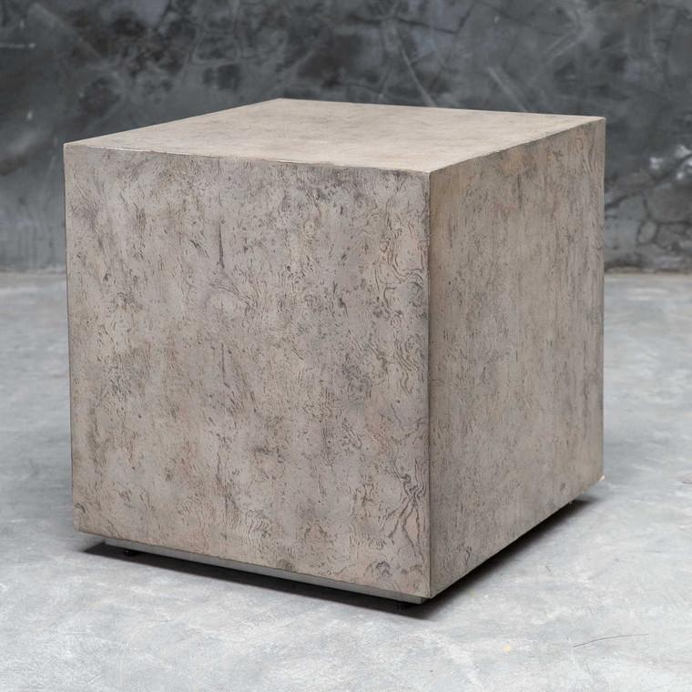 Kioni Cube Table - Size: 48H x 46W x 46D (cm)