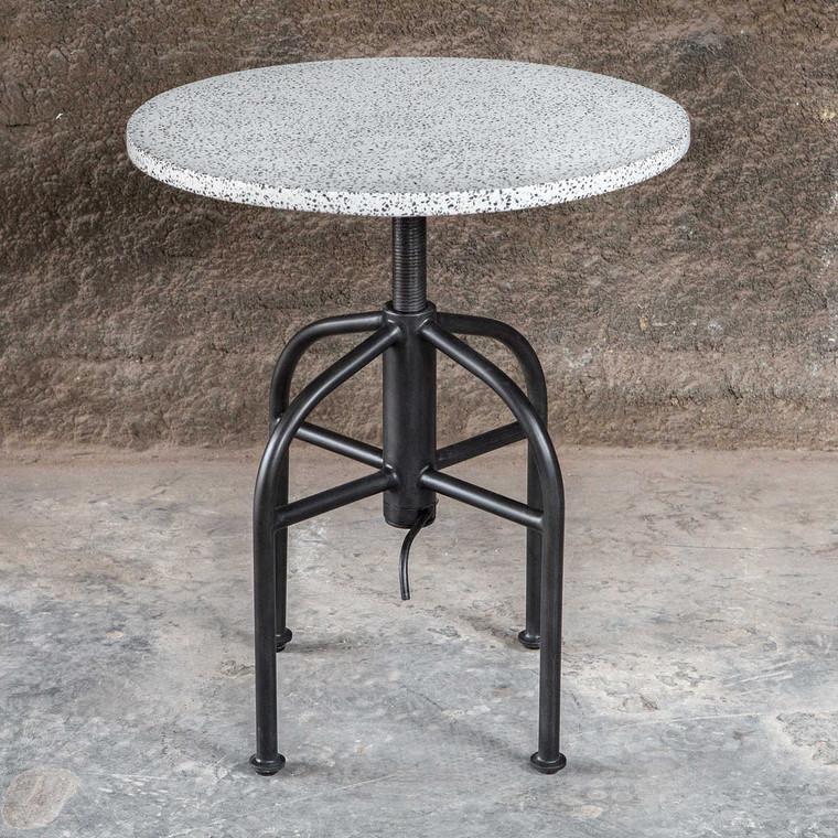 Apsel Accent Table - Size: 60H x 51W x 51D (cm)