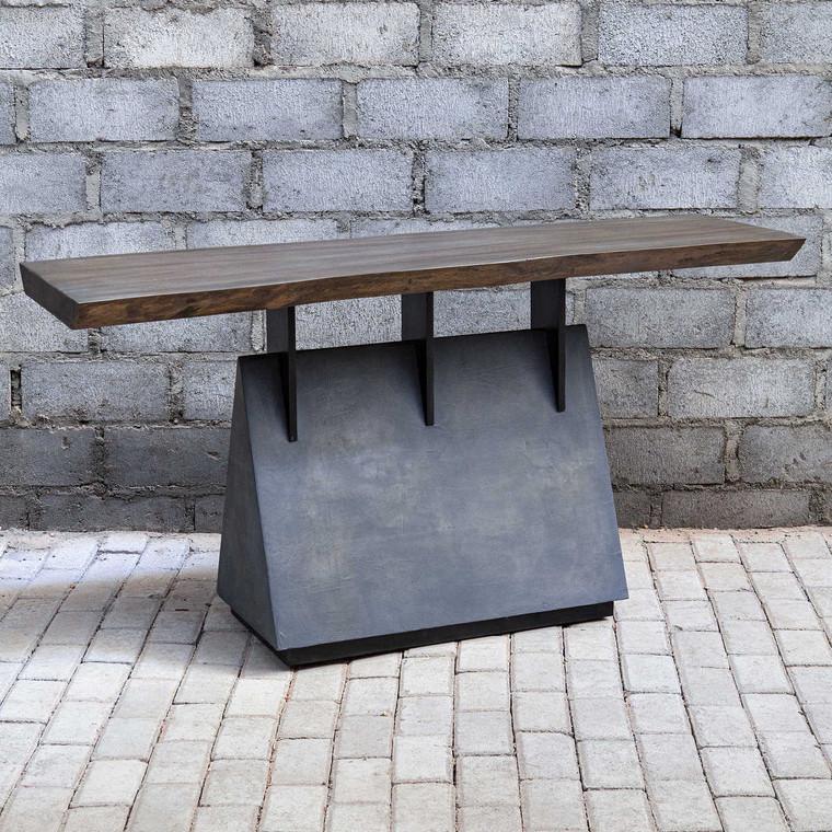 Vessel Console Table - Size: 77H x 152W x 56D (cm)