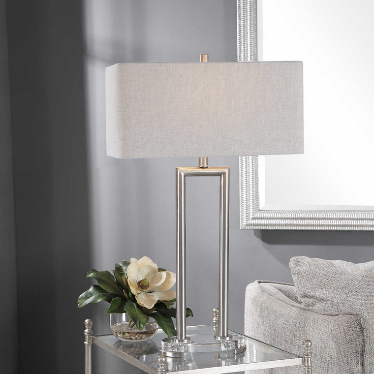 Connell Modern Table Lamp - Size: 84H x 51W x 28D (cm)