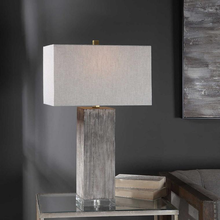 Vilano Modern Table Lamp - Size: 75H x 46W x 28D (cm)