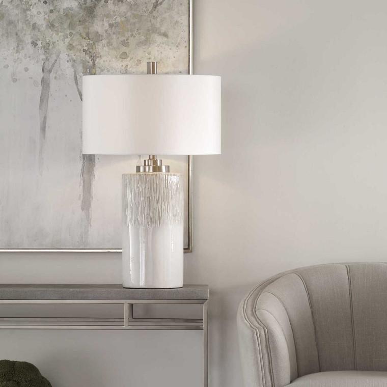 Georgios Cylinder Table Lamp - Size: 72H x 46W x 46D (cm)