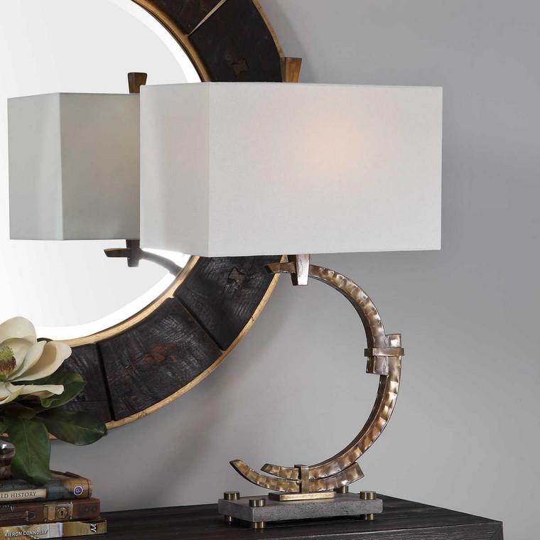 Atria Bronze Table Lamp - Size: 72H x 41W x 25D (cm)