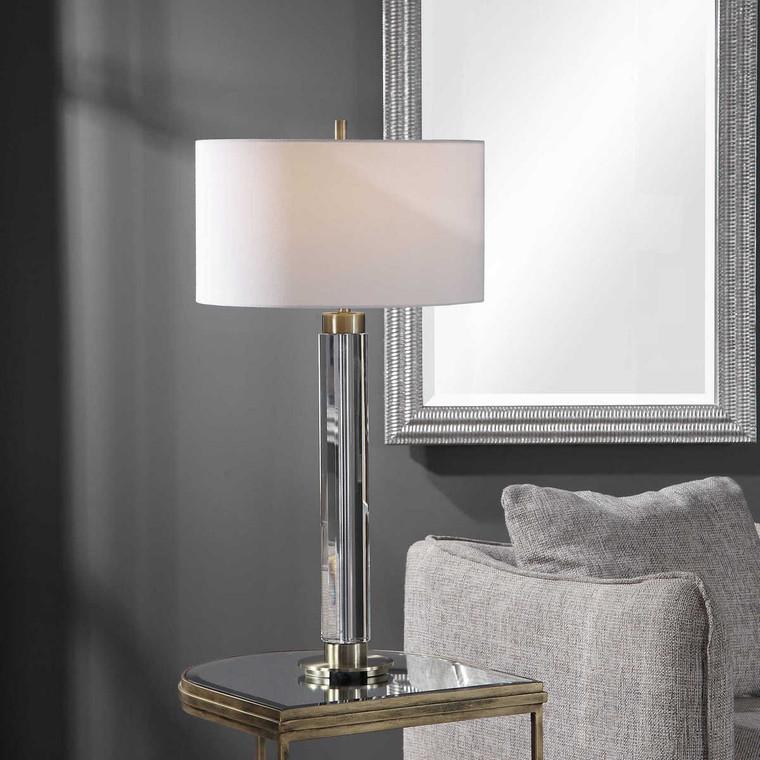Davies Modern Table Lamp - Size: 83H x 43W x 43D (cm)