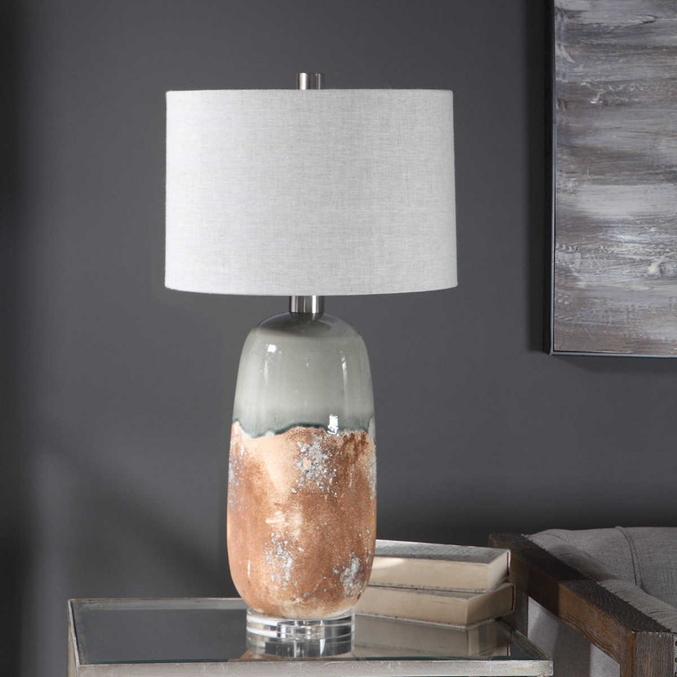 Maggie Ceramic Table Lamp - Size: 77H x 41W x 41D (cm)