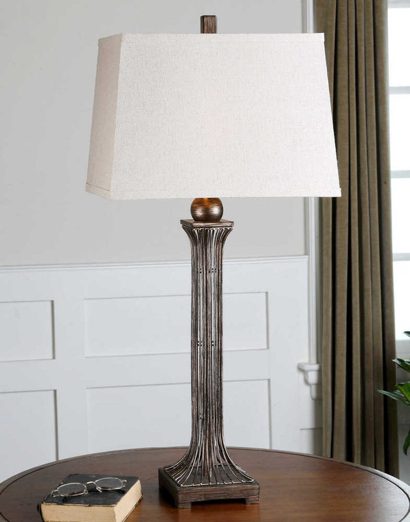 Coriano Table Lamp Set/2 - Size: 86H x 43W x 28D (cm)