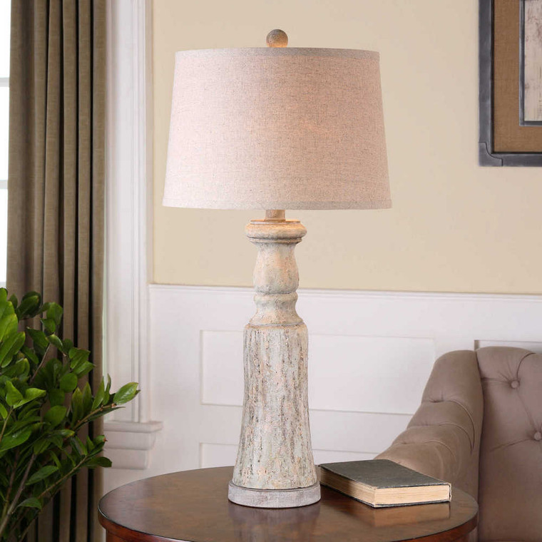 Cloverly Table Lamp Set/2 - Size: 77H x 38W x 38D (cm)