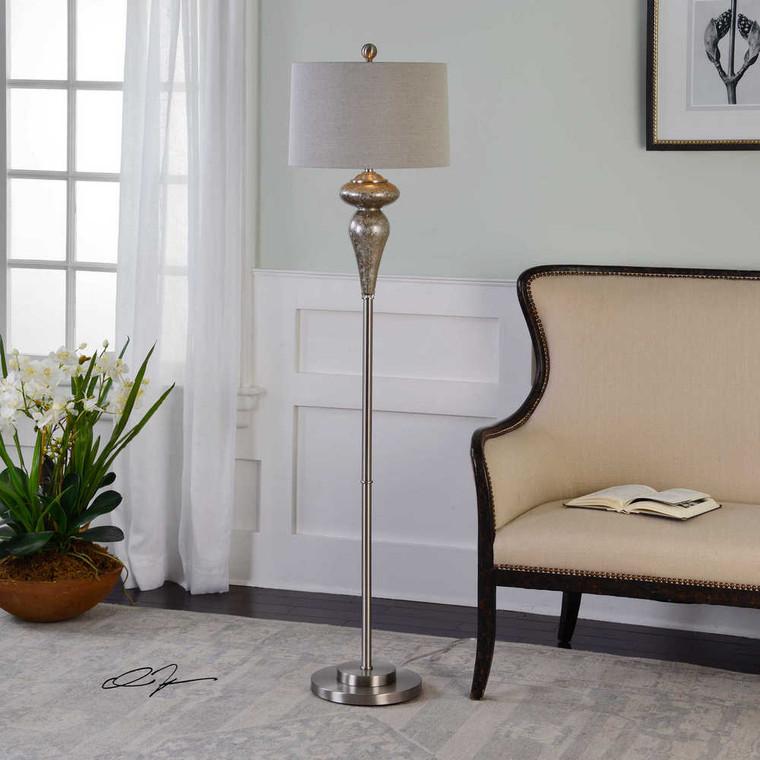 Vercana Floor LampSet Of 2 - Size: 163H x 41W x 41D (cm)