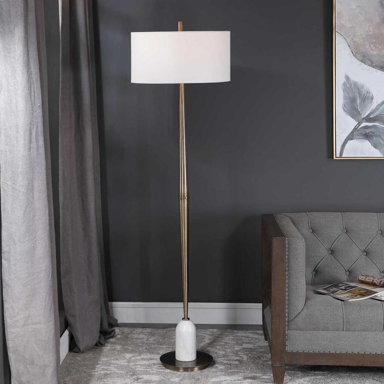 Minette Mid-Century Floor Lamp - Size: 179H x 51W x 51D (cm)