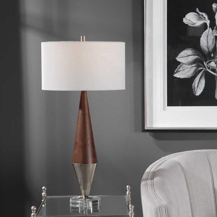 Haldan Mid-Century Table Lamp - Size: 83H x 41W x 41D (cm)