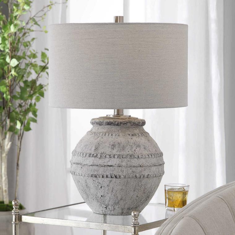 Montsant Stone Table Lamp - Size: 65H x 46W x 46D (cm)