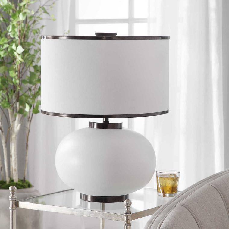 Rhiannon Modern Table Lamp - Size: 56H x 43W x 43D (cm)